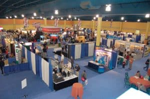 view of tradeshow
